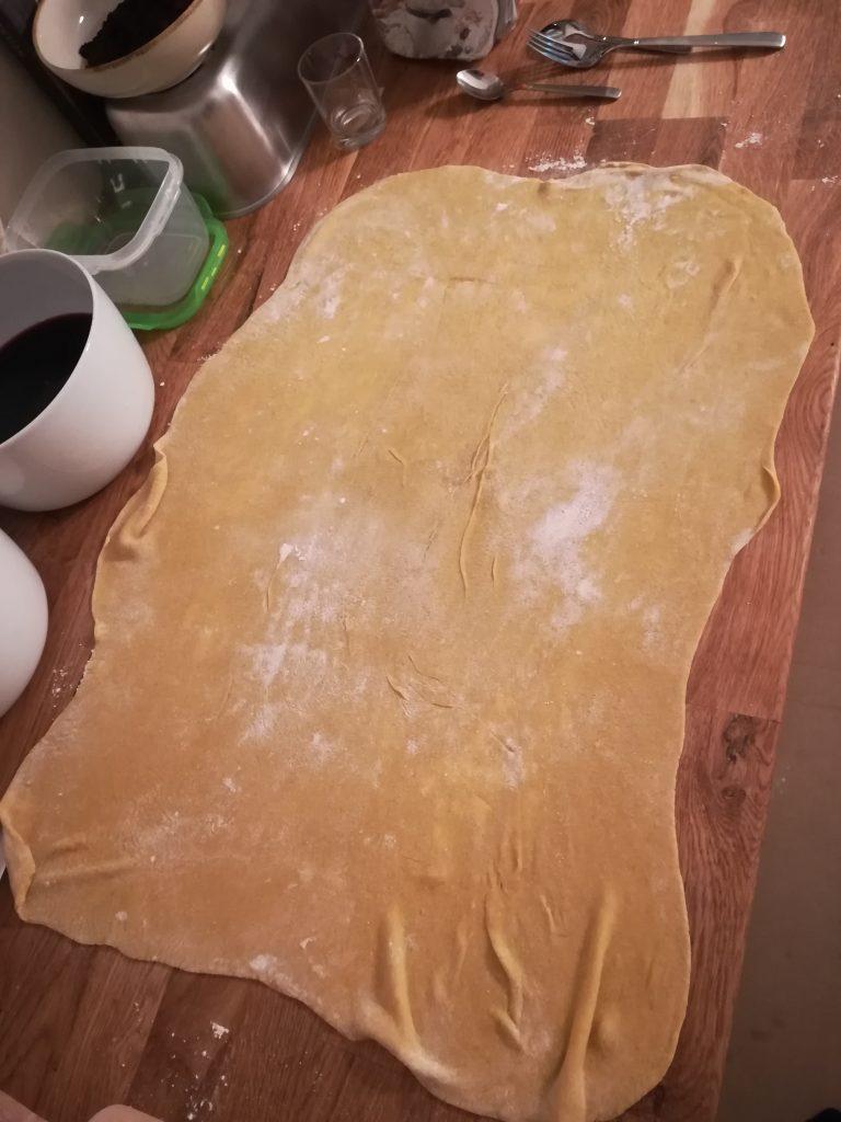 Eiernudeln Rote Beete Tortellini